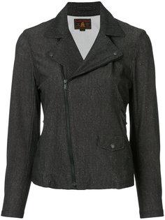 классическая байкерская куртка  Hysteric Glamour