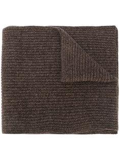 шарф в рубчик N.Peal