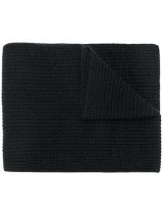 шарф в рубчик крупной вязки N.Peal