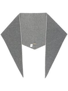 шарф с узором N.Peal