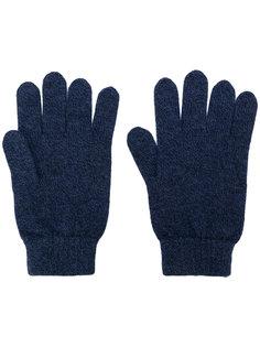 перчатки в рубчик N.Peal