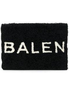 клатч из овчины Balenciaga