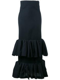 юбка с оборками La Jupe Fronce Jacquemus