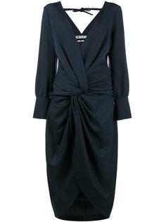 платье La Robe Fleur с V-образной горловиной Jacquemus
