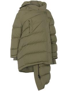 асимметричная куртка-пуховик Balenciaga