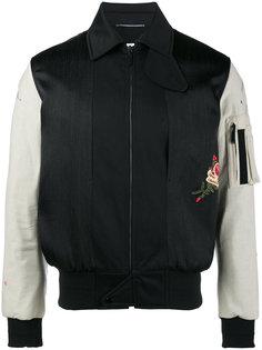 куртка-бомбер army Saint Laurent