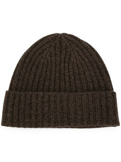 шапка в рубчик крупной вязки N.Peal
