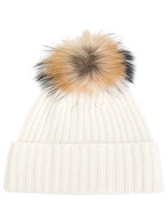 шапка с помпоном N.Peal