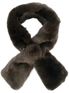 меховой шарф N.Peal