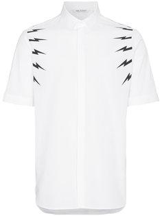 рубашка Lightning Bolt с короткими рукавами Neil Barrett