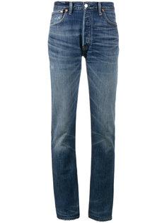 прямые джинсы с завышенной талией X Cindy Crawford Re/Done