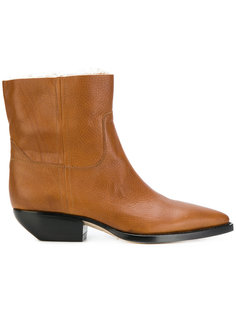 ботинки на молнии Saint Laurent