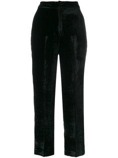 широкие бархатные брюки Pt01