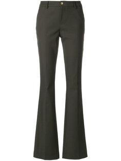 брюки клеш с завышенной талией Pt01