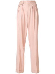 строгие брюки со складками  Pt01