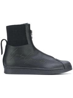 кроссовки с тисненым логотипом на молнии Yohji Yamamoto