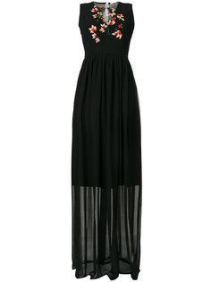 вечернее платье с вышивкой Blugirl