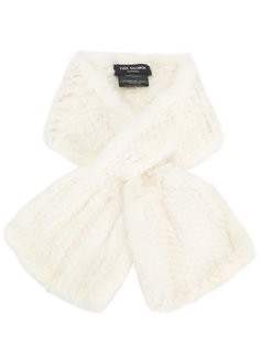 шарф из норкового меха Yves Salomon