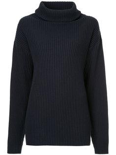 свитер с отворотом  The Gigi