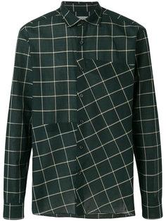 рубашка с сетчатым принтом Lanvin