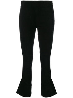 укороченные расклешенные брюки Iro