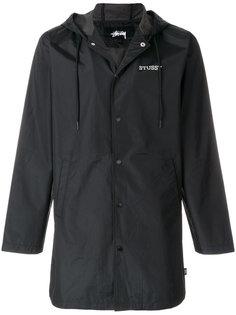 куртка с капюшоном и логотипом Stussy