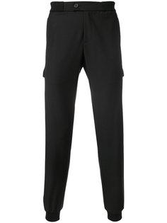 спортивные брюки с отделкой молниями Les Hommes Urban