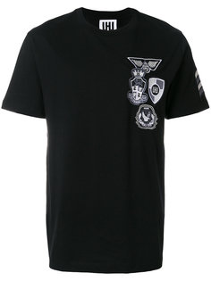 футболка с заплатками Les Hommes Urban
