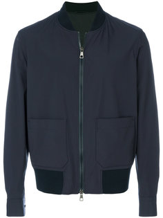 куртка-бомбер  с накладными карманами Neil Barrett
