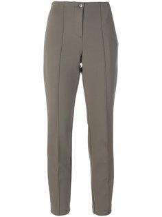 укороченные брюки с высокой талией Cambio
