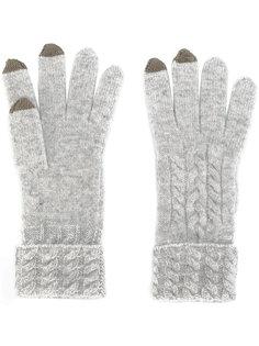 трикотажные перчатки N.Peal