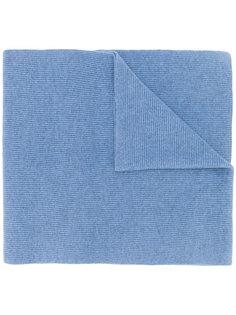 шарф ребристой вязки N.Peal