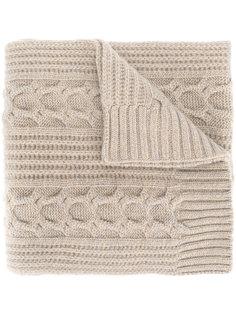 трикотажный шарф N.Peal
