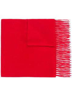 шарф с бахромой N.Peal