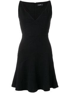 трикотажное платье мини Dsquared2