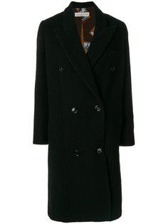 двубортное свободное пальто Golden Goose Deluxe Brand