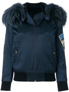 куртка бомбер кроя слим с вышивкой Mr & Mrs Italy