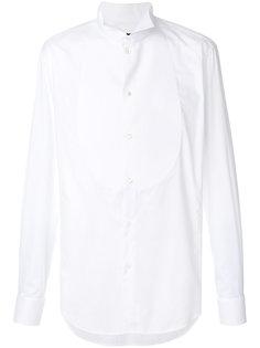 рубашка с нагрудной панелью Giorgio Armani