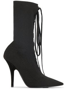 ботильоны с трикотажным носком на шнуровке Yeezy