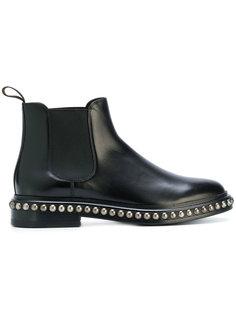 ботинки-челси с заклепками Santoni