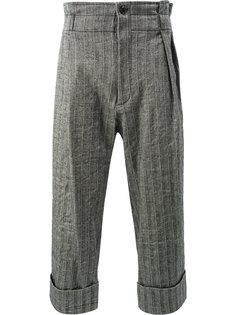 брюки со складками Ann Demeulemeester