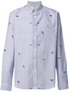 полосатая рубашка Tropic Ice Kenzo