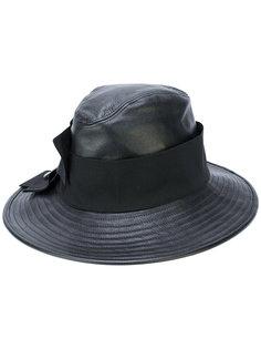 кожаная шляпа Dolce & Gabbana