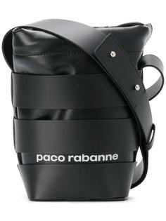 сумка-мешок с логотипом Paco Rabanne