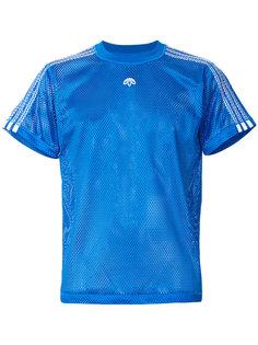 сетчатая футболка с логотипом Adidas Originals By Alexander Wang