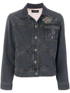 джинсовая куртка Ensley с вышивкой Isabel Marant