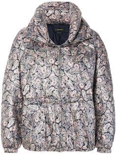 дутая куртка Calvin с принтом пейсли Isabel Marant