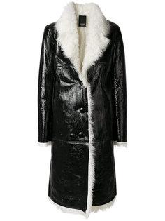 длинное пальто свободного кроя Numerootto