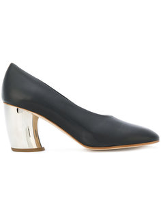 туфли-лодочки на каблуке с эффектом металлик Proenza Schouler