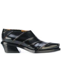 туфли-слипон на каблуке Proenza Schouler